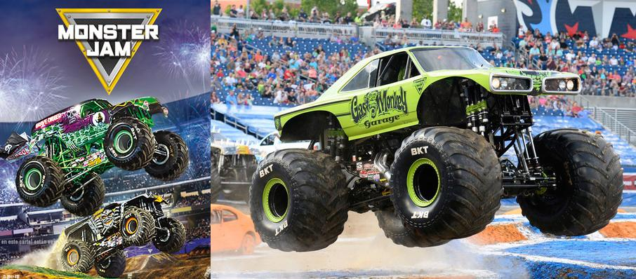 Monster Jam at BB&T Center