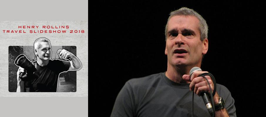 Henry Rollins at Amaturo Theater