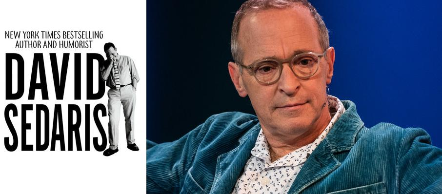 David Sedaris at Parker Playhouse
