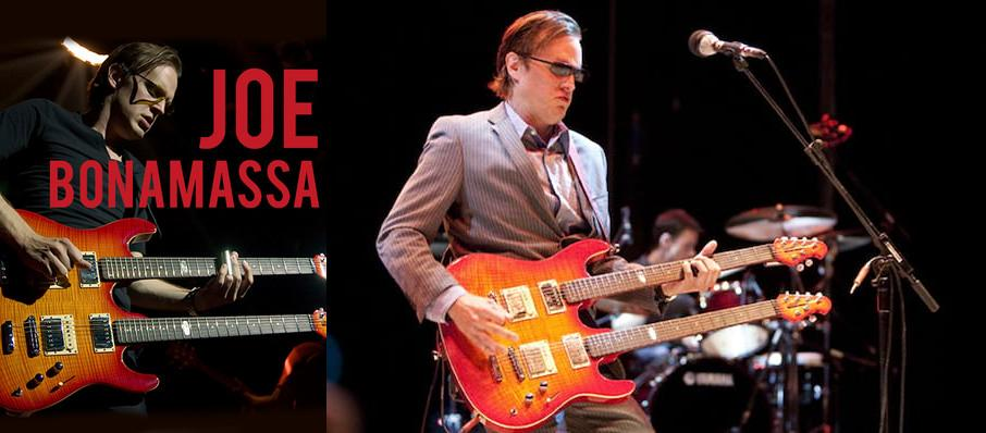 Joe Bonamassa at Au-Rene Theater