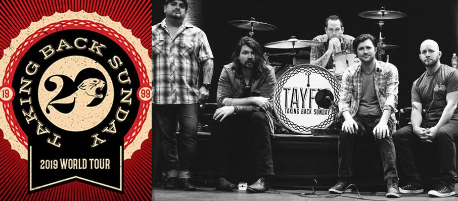 Taking Back Sunday at Revolution Live
