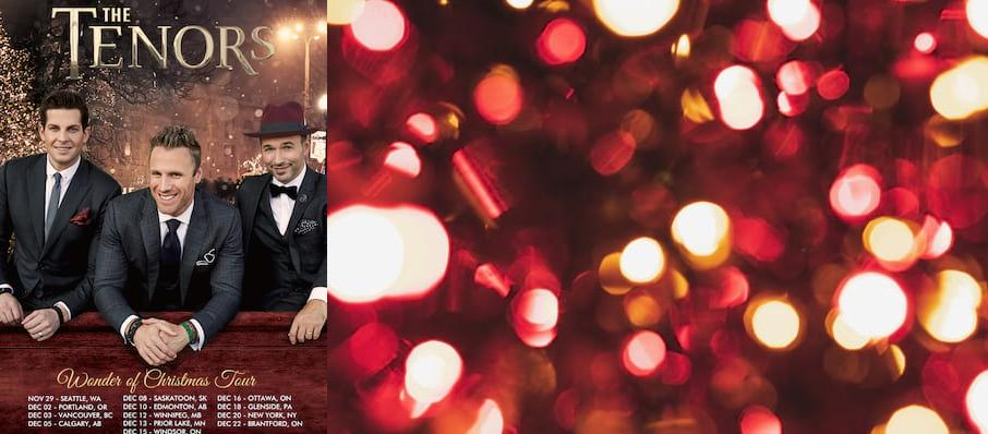 The Tenors at Parker Playhouse
