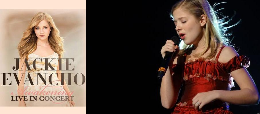 Jackie Evancho at Coral Springs Center For The Arts