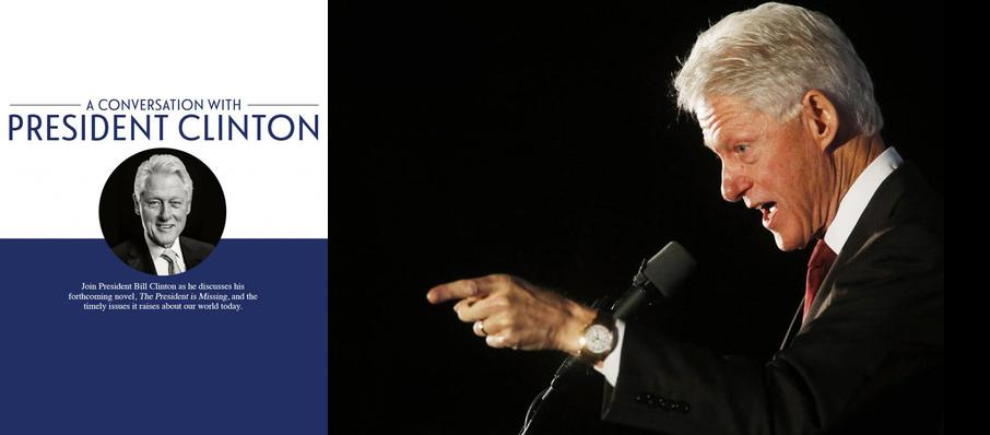 Bill Clinton at Au-Rene Theater