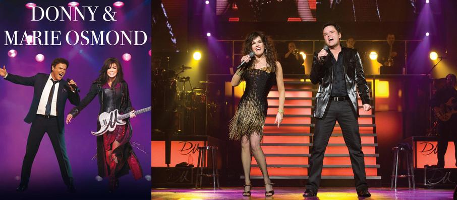 Donny and Marie Osmond at Hard Rock Event Center