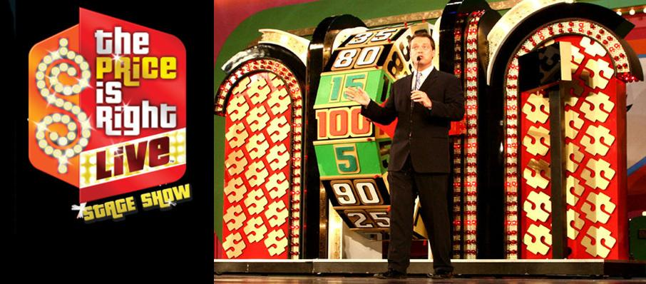 The Price Is Right - Live Stage Show at Coral Springs Center For The Arts