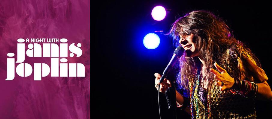 A Night with Janis Joplin at Parker Playhouse