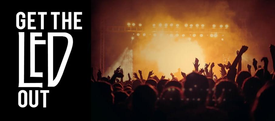 Get The Led Out - Tribute Band at Culture Room