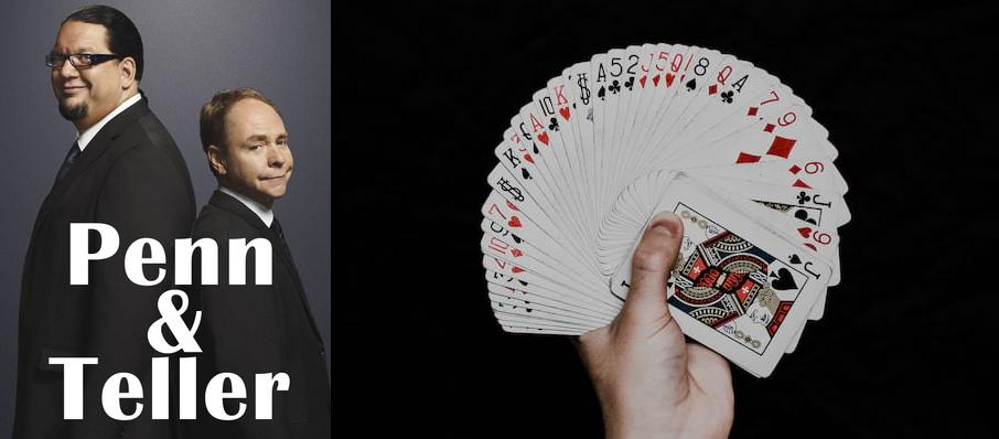 Penn & Teller at Hard Rock Event Center