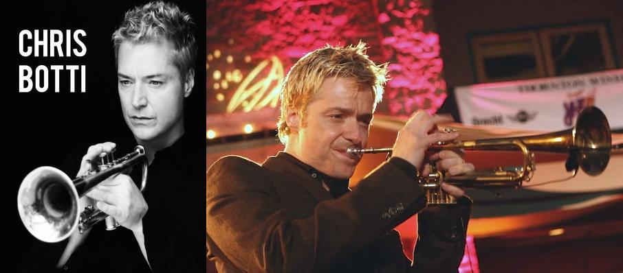 Chris Botti at Parker Playhouse