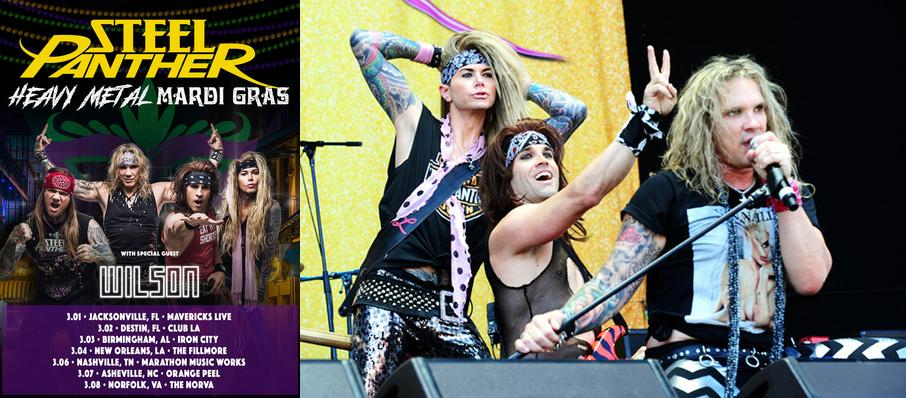 Steel Panther at Culture Room