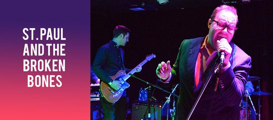 St. Paul and The Broken Bones at Culture Room