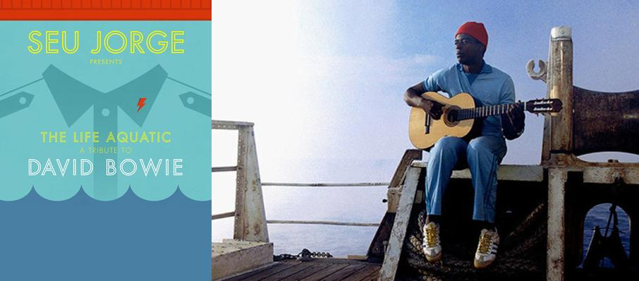 Seu Jorge at Au-Rene Theater