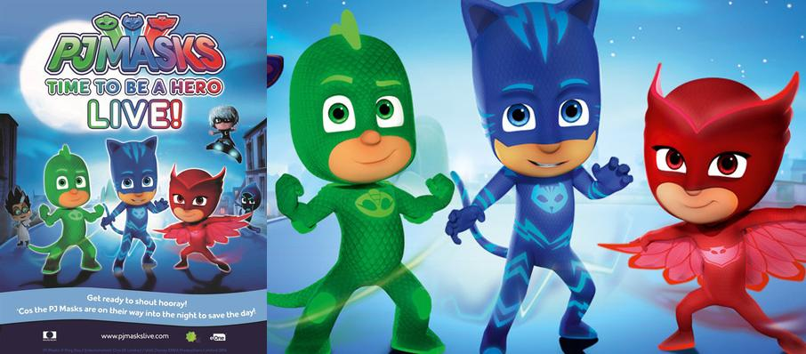 PJ Masks Live! Time To Be A Hero at Parker Playhouse