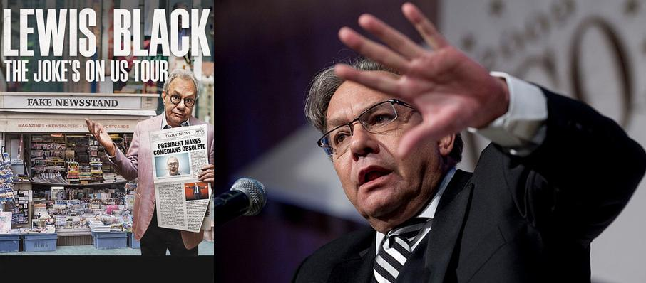 Lewis Black at Coral Springs Center For The Arts