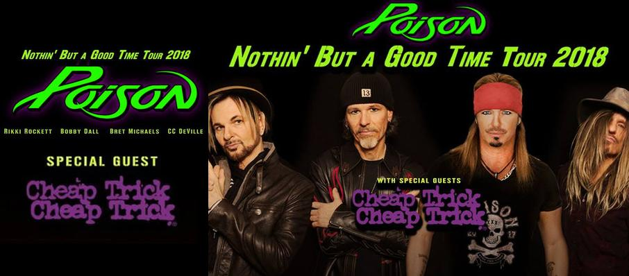 Poison with Cheap Trick at Hard Rock Event Center