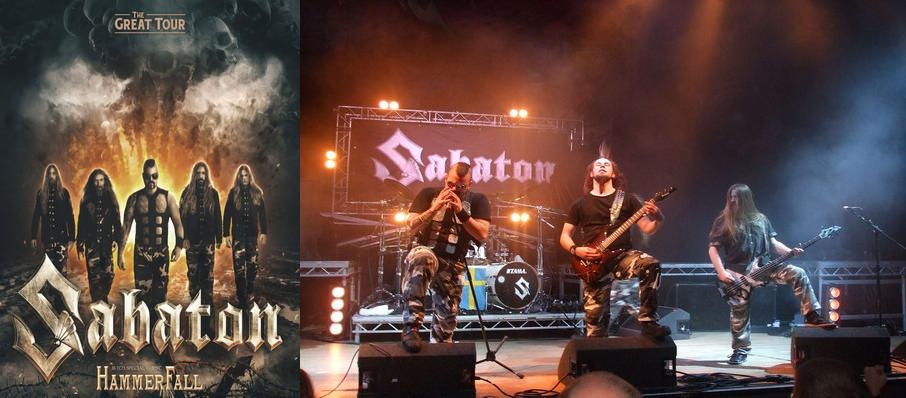 Sabaton at Revolution Live