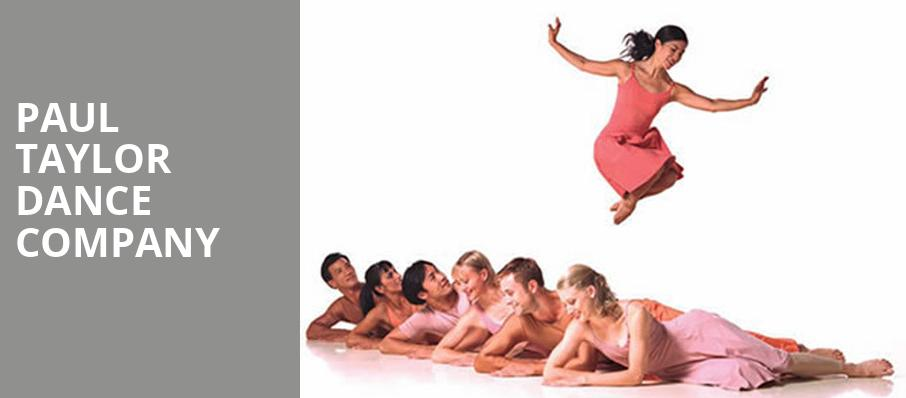 Paul Taylor Dance Company, Amaturo Theater, Fort Lauderdale