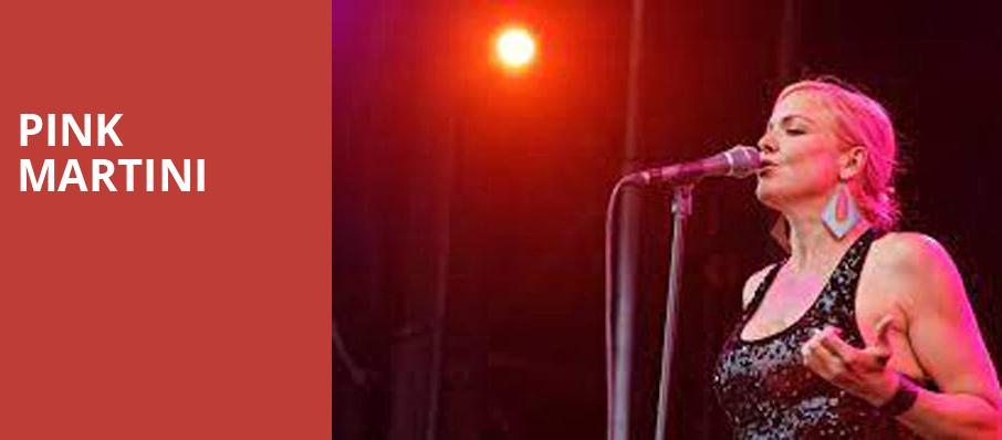 Pink Martini, Au Rene Theater, Fort Lauderdale