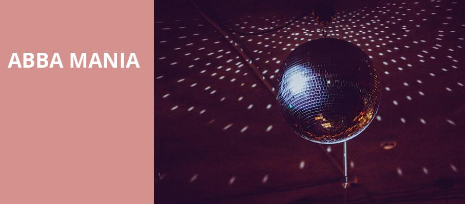 ABBA Mania, Coral Springs Center For The Arts, Fort Lauderdale