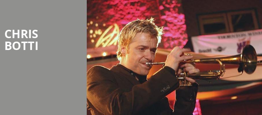 Chris Botti, Parker Playhouse, Fort Lauderdale