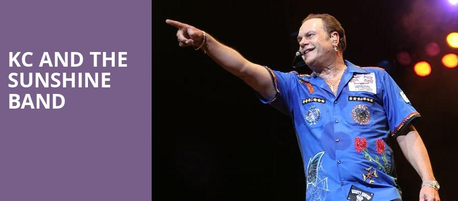 KC and the Sunshine Band, Hard Rock Event Center, Fort Lauderdale