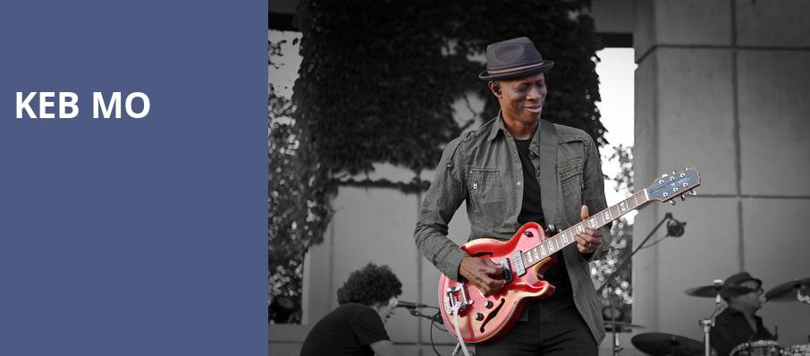 Keb Mo, Parker Playhouse, Fort Lauderdale