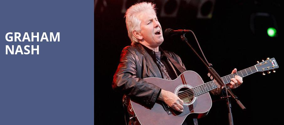 Graham Nash, Coral Springs Center For The Arts, Fort Lauderdale