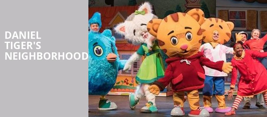Daniel Tigers Neighborhood, Coral Springs Center For The Arts, Fort Lauderdale