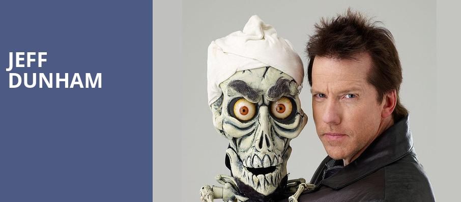 Jeff Dunham, BBT Center, Fort Lauderdale