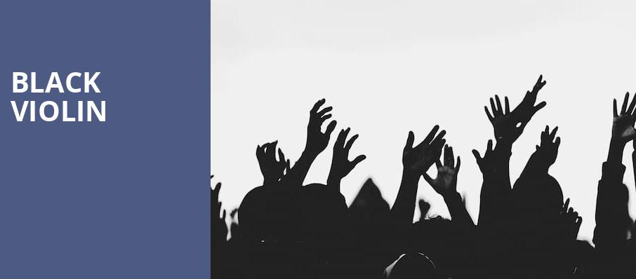 Black Violin, Au Rene Theater, Fort Lauderdale