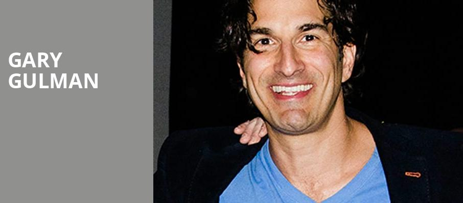 Gary Gulman, Amaturo Theater, Fort Lauderdale