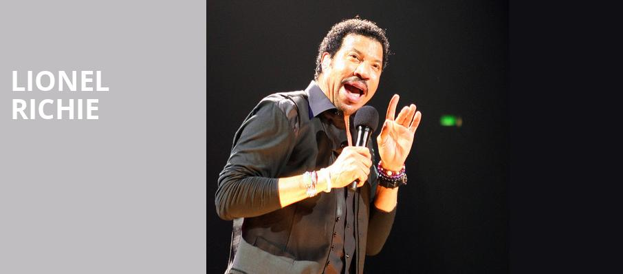 Lionel Richie, Hard Rock Event Center, Fort Lauderdale