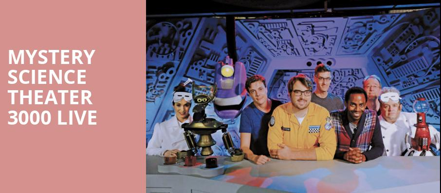 Mystery Science Theater 3000 Live, Parker Playhouse, Fort Lauderdale
