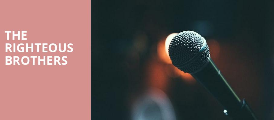 The Righteous Brothers, Coral Springs Center For The Arts, Fort Lauderdale