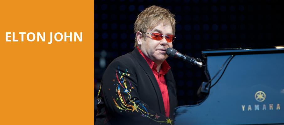 Elton John, BBT Center, Fort Lauderdale