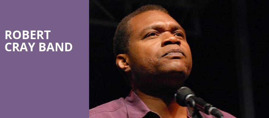 Robert Cray Band, Parker Playhouse, Fort Lauderdale