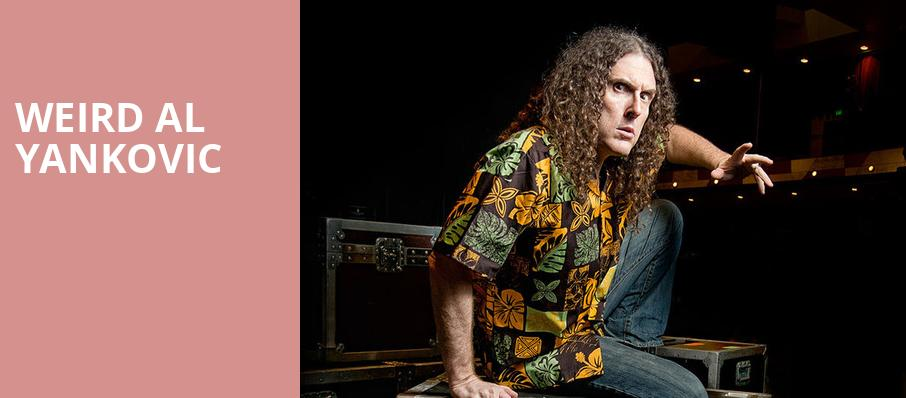 Weird Al Yankovic, Au Rene Theater, Fort Lauderdale
