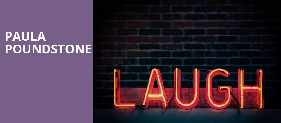 Paula Poundstone, Coral Springs Center For The Arts, Fort Lauderdale