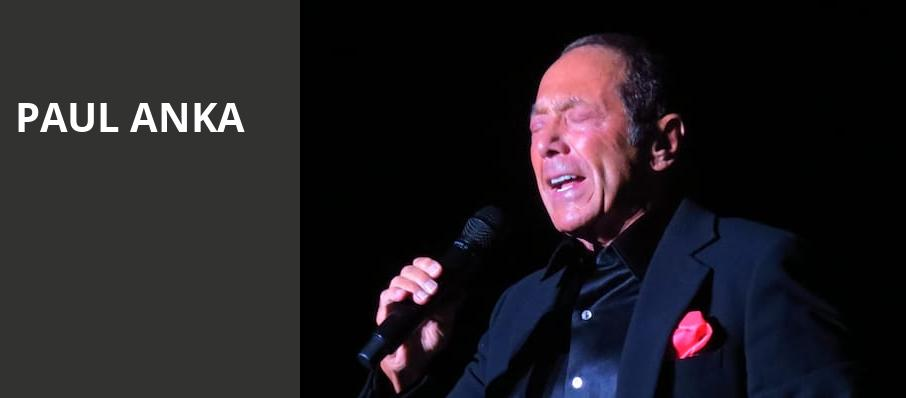 Paul Anka, Au Rene Theater, Fort Lauderdale
