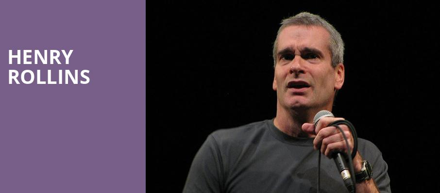 Henry Rollins, Amaturo Theater, Fort Lauderdale