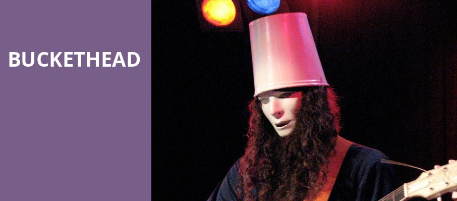 Buckethead, Culture Room, Fort Lauderdale