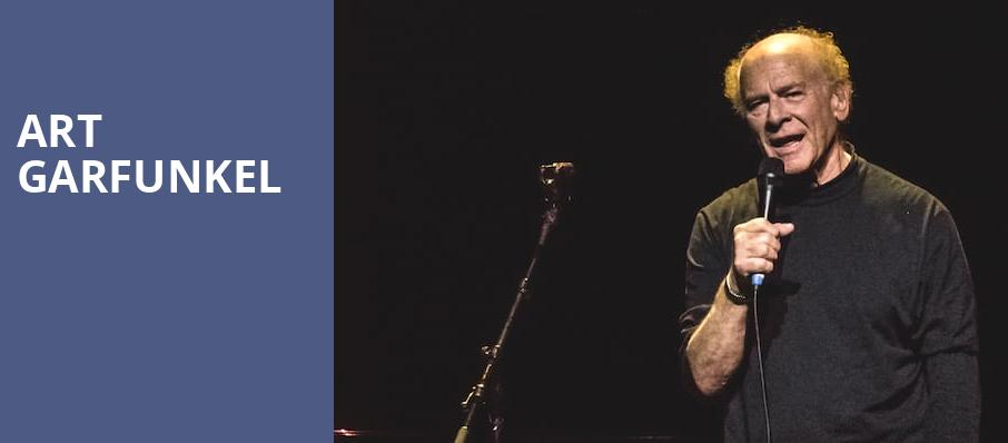 Art Garfunkel, Coral Springs Center For The Arts, Fort Lauderdale
