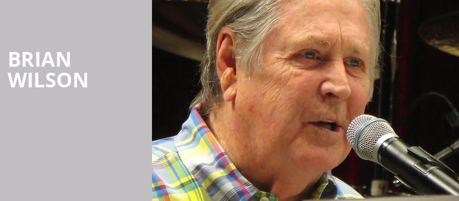 Brian Wilson, Hard Rock Live, Fort Lauderdale
