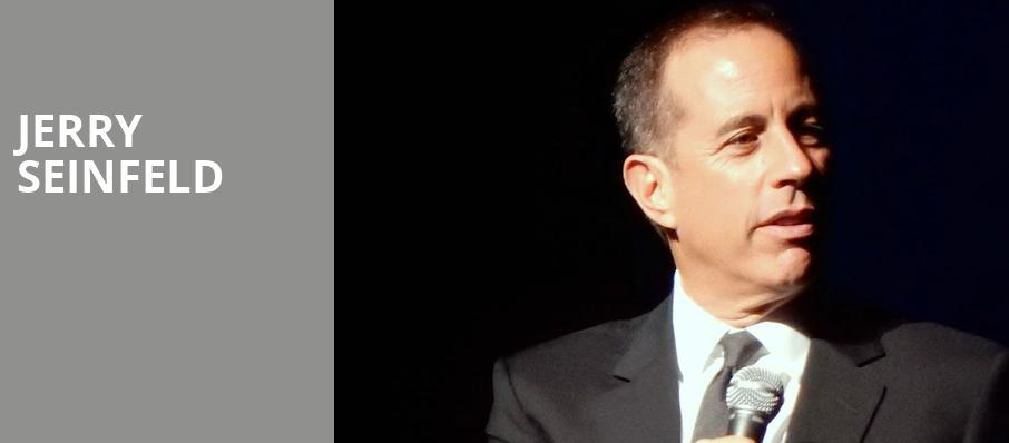 Jerry Seinfeld, Hard Rock Live, Fort Lauderdale