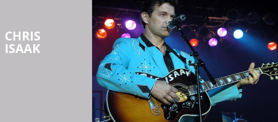 Chris Isaak, Coral Springs Center For The Arts, Fort Lauderdale