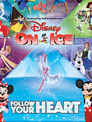 Disney on Ice: Follow Your Heart Poster